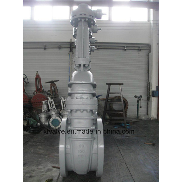 ANSI 150lb/300lb Cast Carbon Steel Wcb Flange End Gate Valve