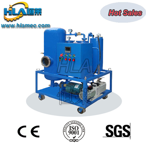 High Vacuum Oil Dehydration Plant
