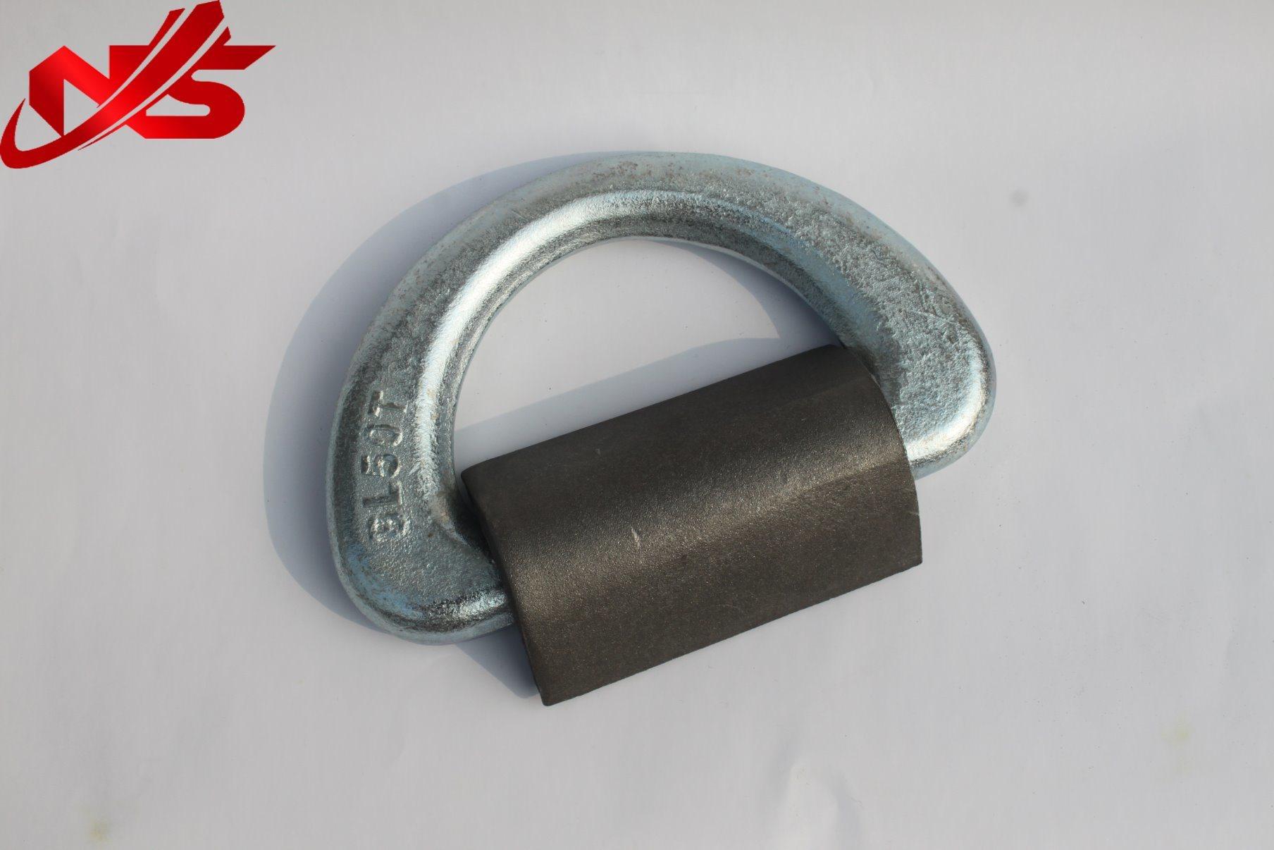 """European Type G80 Welded """"D"""" Ring"""