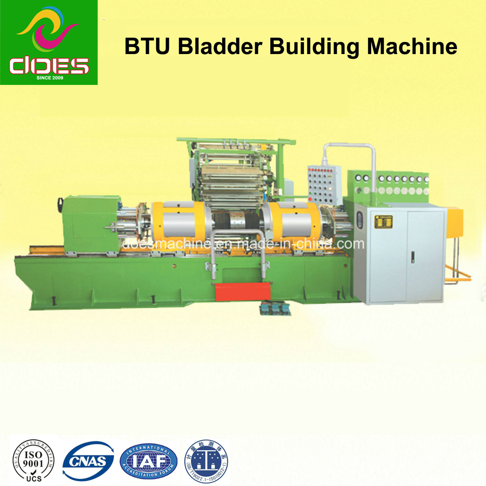 BTU Rubber Tire/Tyre Building Machine for Bladder Turn-up (0814)