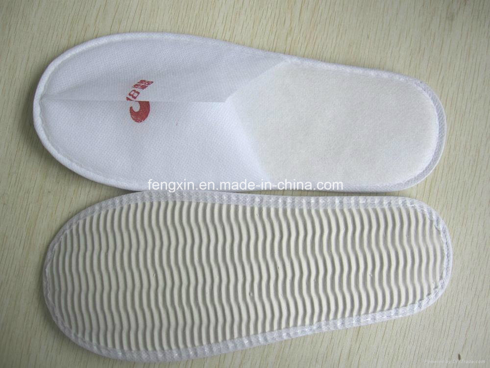 High Quality Soft White Disposable Slipper