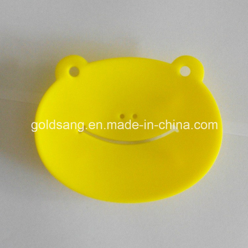 New Fashion Design Cute Frog Shape Silicone Soap Holders