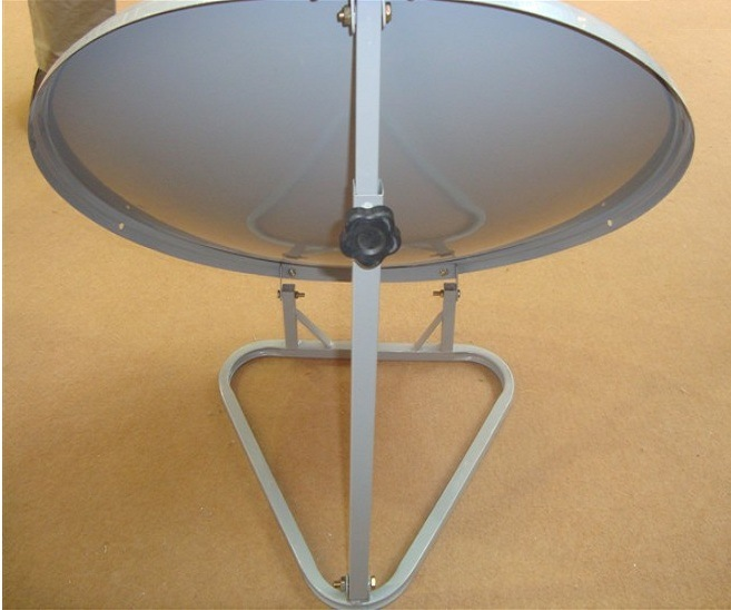 Ku-Band 90cm Offset Satellite Antenna with SGS Certification