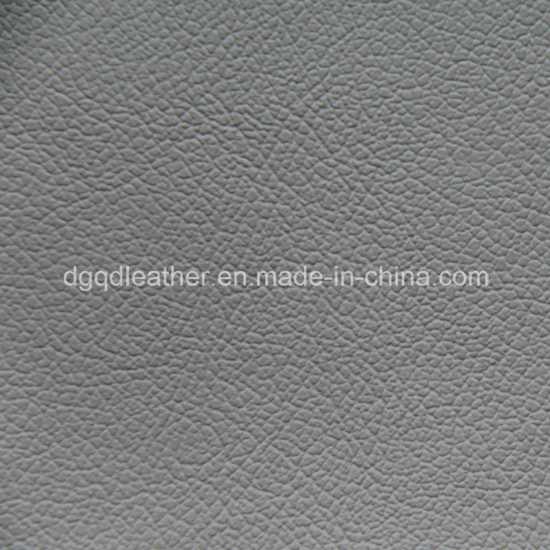 Popular PVC Design for Sofa in UK Leather (QDL-53233)