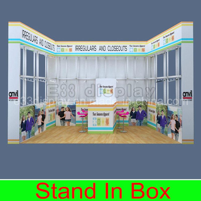 Custom Aluminum Extrusion Portable Modular DIY Exhibition Trade Show Booth
