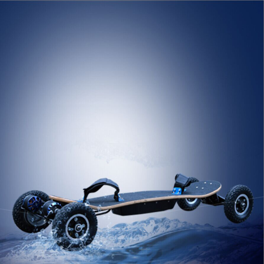 off-Road 4 Wheels Drifting Board 1650X2w Powered Electric Skateboard