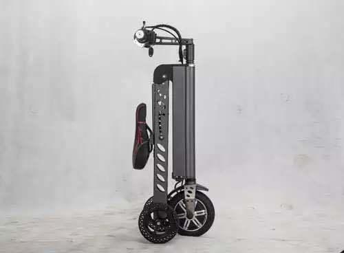 Hot-Selling Three Wheels Mini Folding 8 Inch Electric Bike