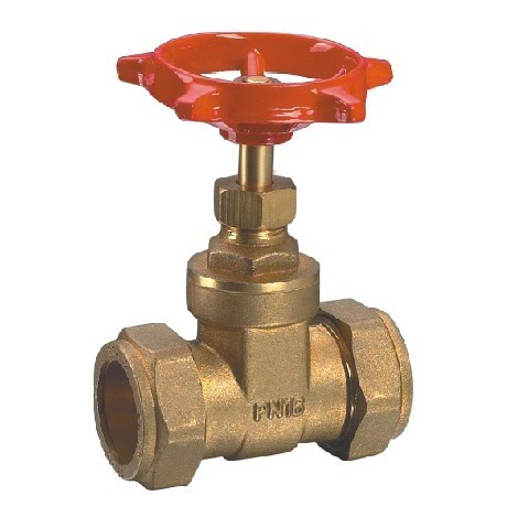 (HE-3006) Gate Valve with Steel Handle for Water