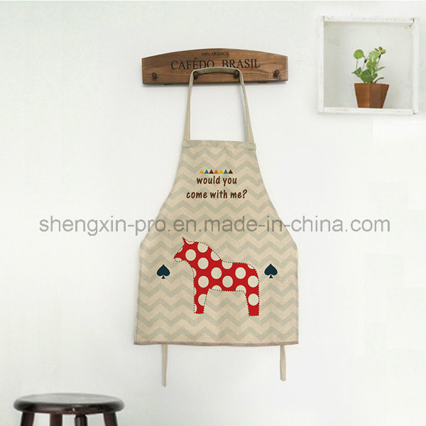 Canvas Apron Kitchen Apron with Long Strap for Adult