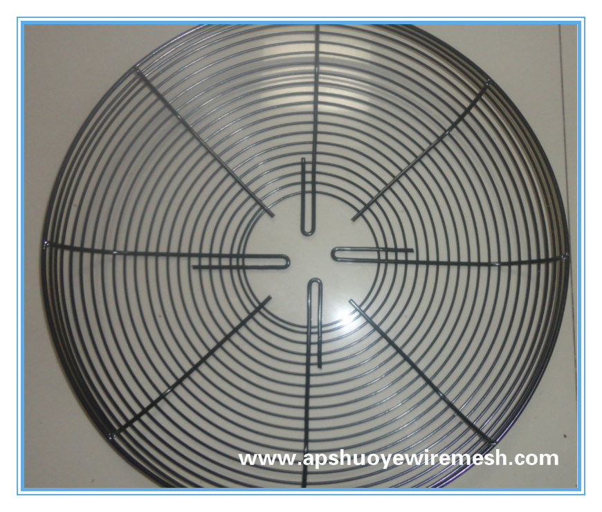 Protection Fan Guard for Ventilation/Metal Fan Guard/Motor Moint Fan Guard
