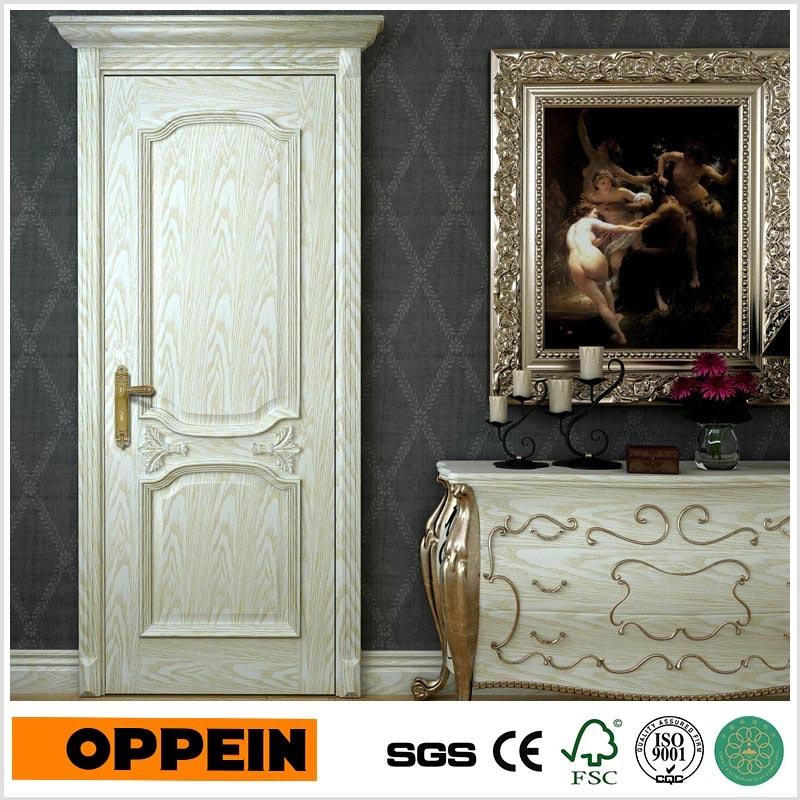 Oppein European Style Solid Wood Composite Wooden Interior Door (MSGD33)