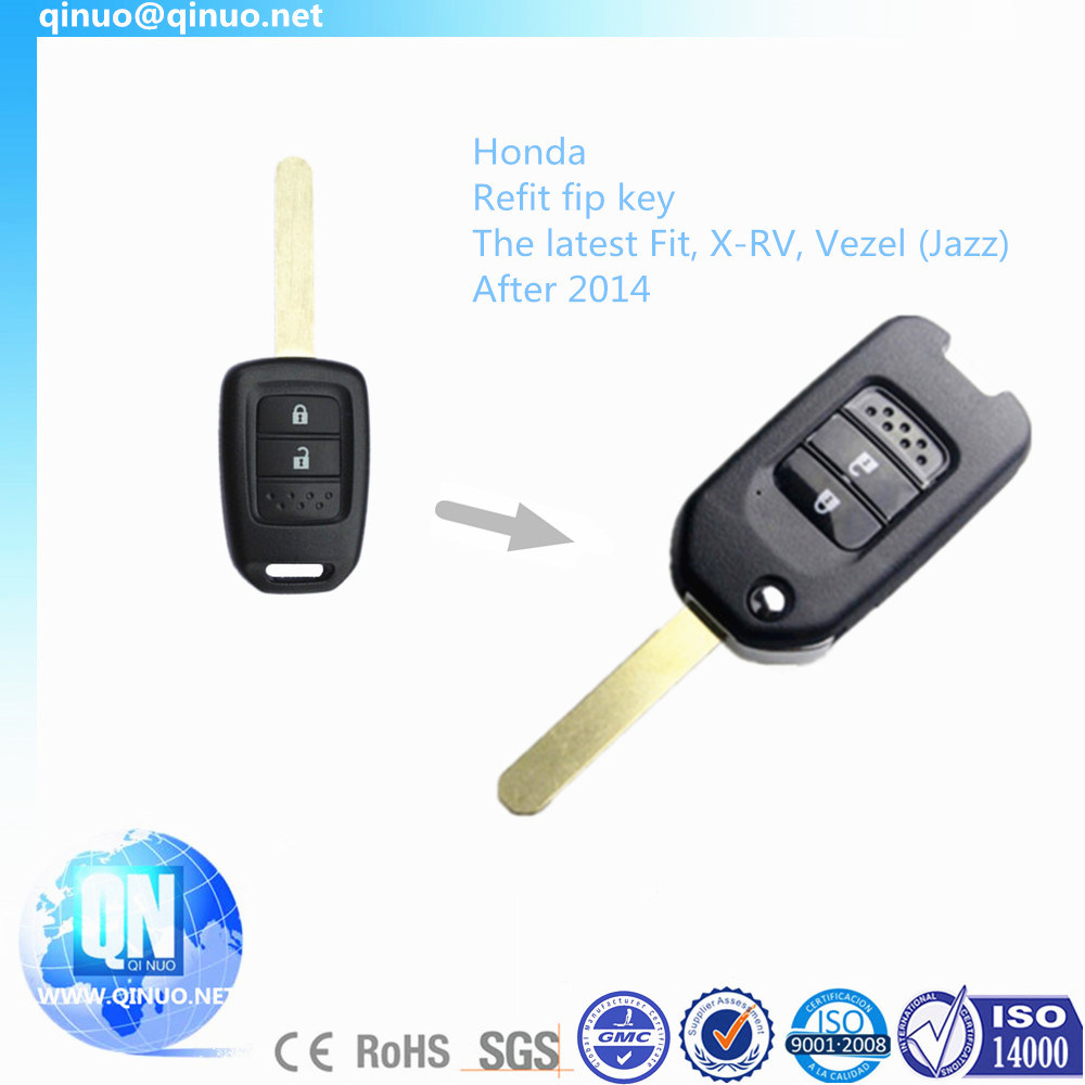 Remote Key for The Latest Honda Jazz Fit and X-RV After 2014