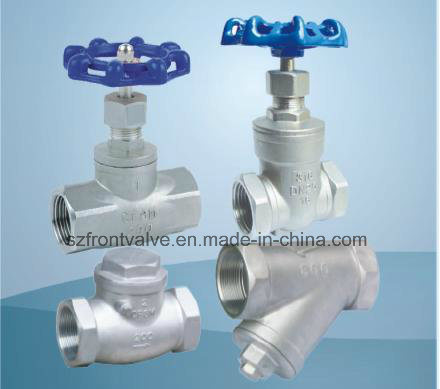 Precision Casting Screwed Globe Valve