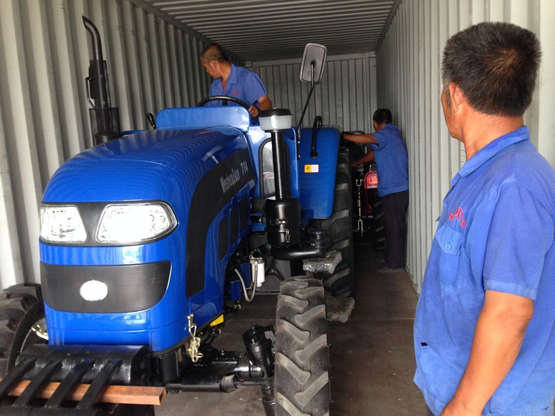 35HP 40HP-55HP Four Wheel Agriculture Foton Farm Tractor