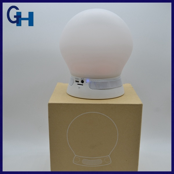 Portable Smart Bluetooth Speaker Lamp with LED Light
