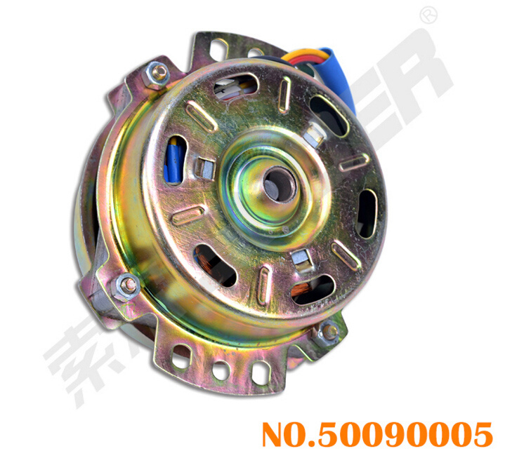 Suoer Box Fan Parts 45W Electric Fan Motor 12 Inch Motor (50090005-Motor-Box Fan-Small 12 Inch(45W Blue Set 5 Wire))