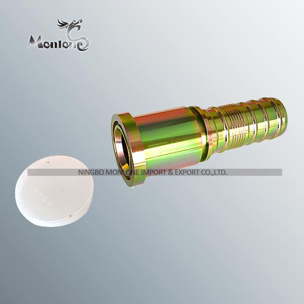 Zhejiang Useful Reasonable Price PF Standard OEM High Quality Hydraulic Metric Hose Fittings(Ha018