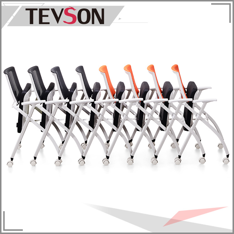 Mesh Folding Chair for Office, Meeting Room and Training Class