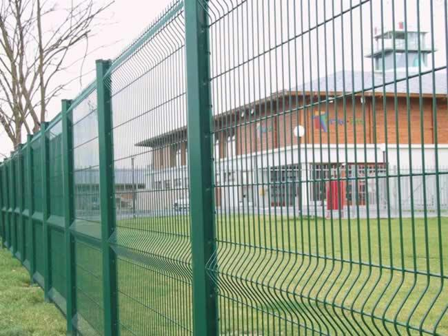PVC Coated Galvanized Wire Mesh Fence Protection Fence China Anping Factory