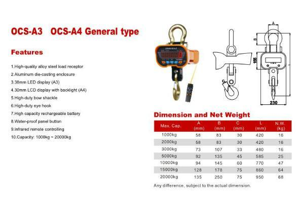 Eye Hook Type Crane Scale