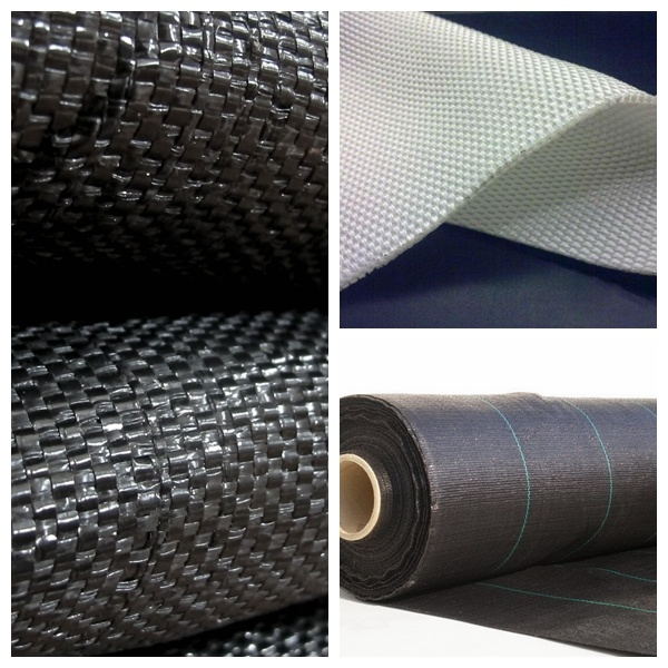 Polyester Woven Geotextile White Long Fiber Filament
