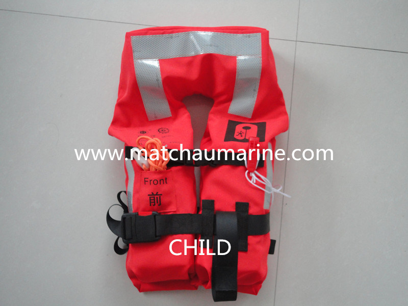 Customized 147n Marine Foam Type Ce Med Life Jacket