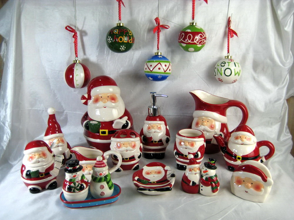 Christmas Santa Ceramic Kitchenware
