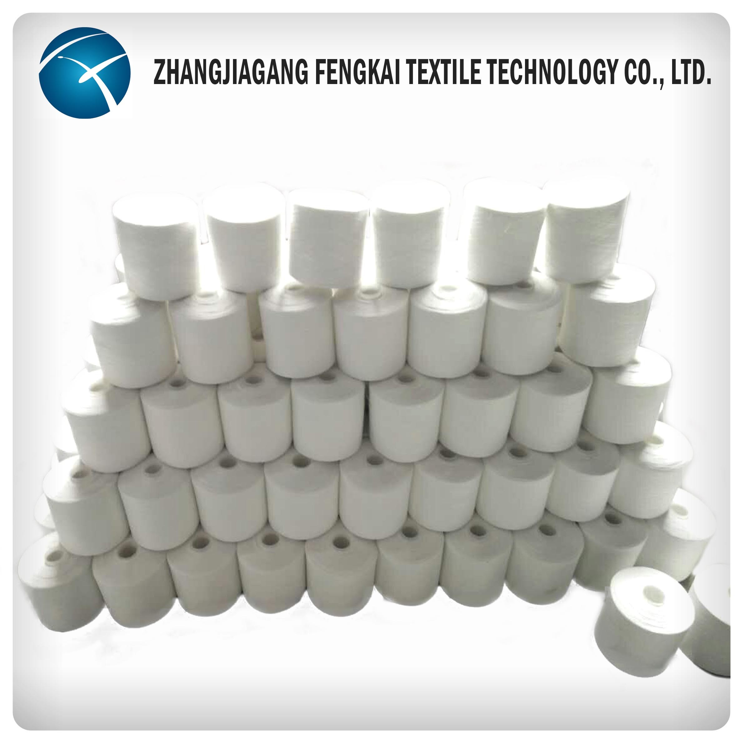 Raw White Polyester Sewing Thread