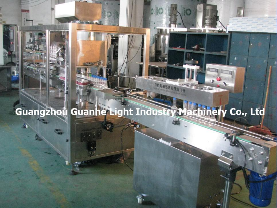 Automatic Liquid Pesticide Filling Machine with Capping & Sealing Line