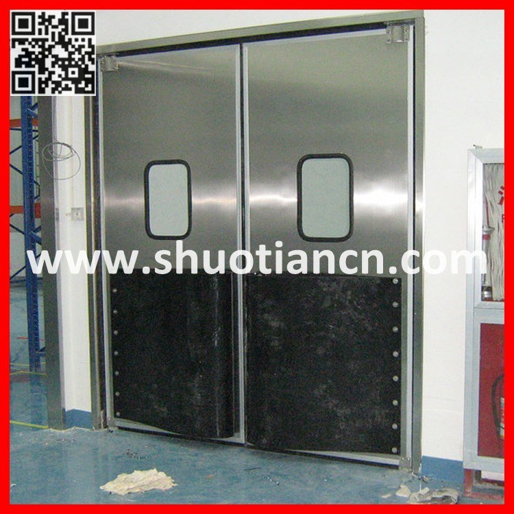 Clean Room Industrial Stainless Steel Traffic Door