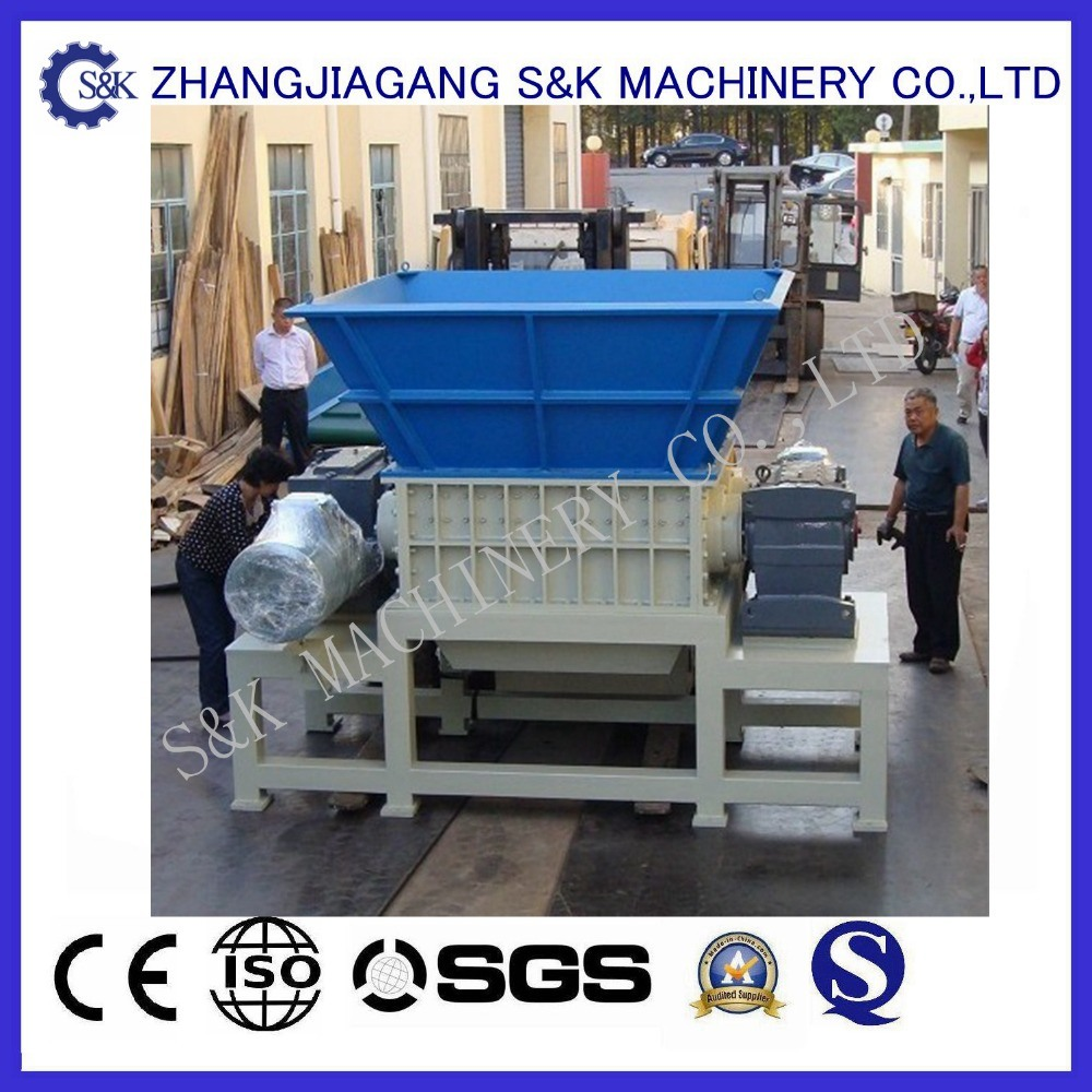 Double Shaft Shredder for Plastic and Rubber