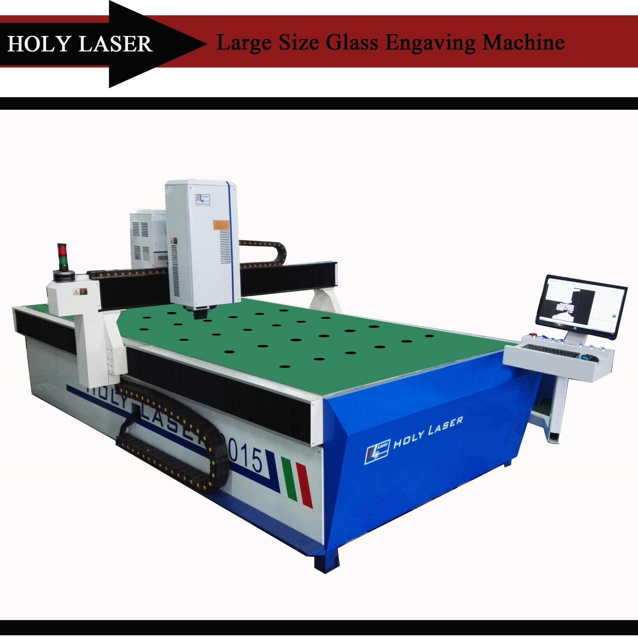 Large Size 2D 3D Glass Crystal Laser Engraving Machine