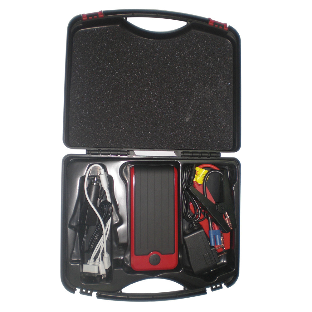 12000mAh Rechargeable Auto Car Jump Starter with LED Light