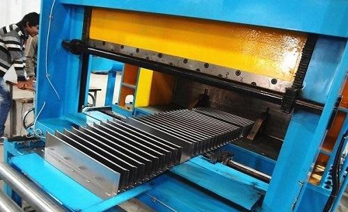 Transformer Tank Corrugated Fin Folding Line