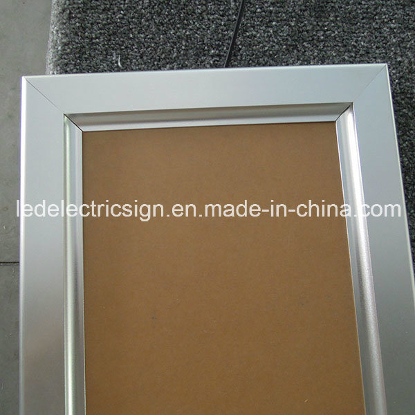 Snap Aluminum Profile for LED Light Box with Billboards for LED Sign