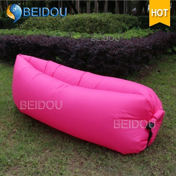 Factory Wholesale Outdoor DIY Inflatable Sleeping Lazy Bag Air Lounger Sofa Chair