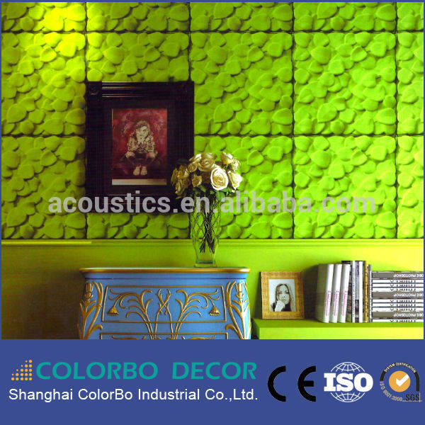 Decorative Wall 3D Polyester Fiber Acoustic Panel