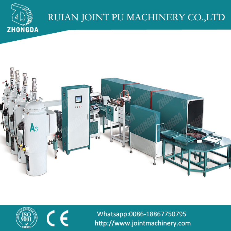 PU Sole Shoe Making Machine
