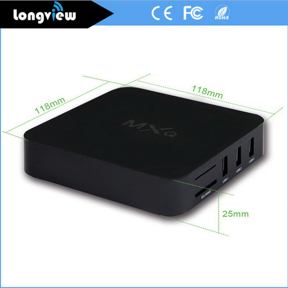 Android 4.4 Quad Core S805 Kodi Fully Loaded Smart Ott Set Top TV Box