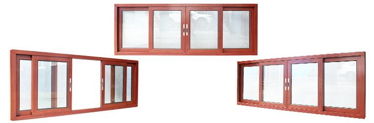 Customized High Quality Double Glazing Aluminum Sliding Window