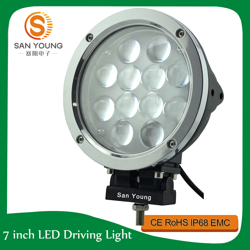 Auto LED Work Lamp CREE LED Driving Lamp 7 Inch 60W