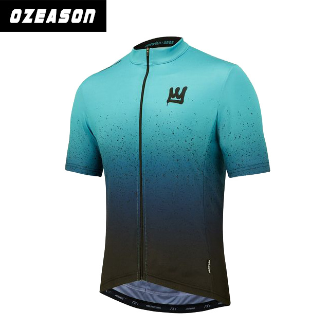 Professional High Quality Short Sleeve Men Pullover Custom Cycling Jerseys