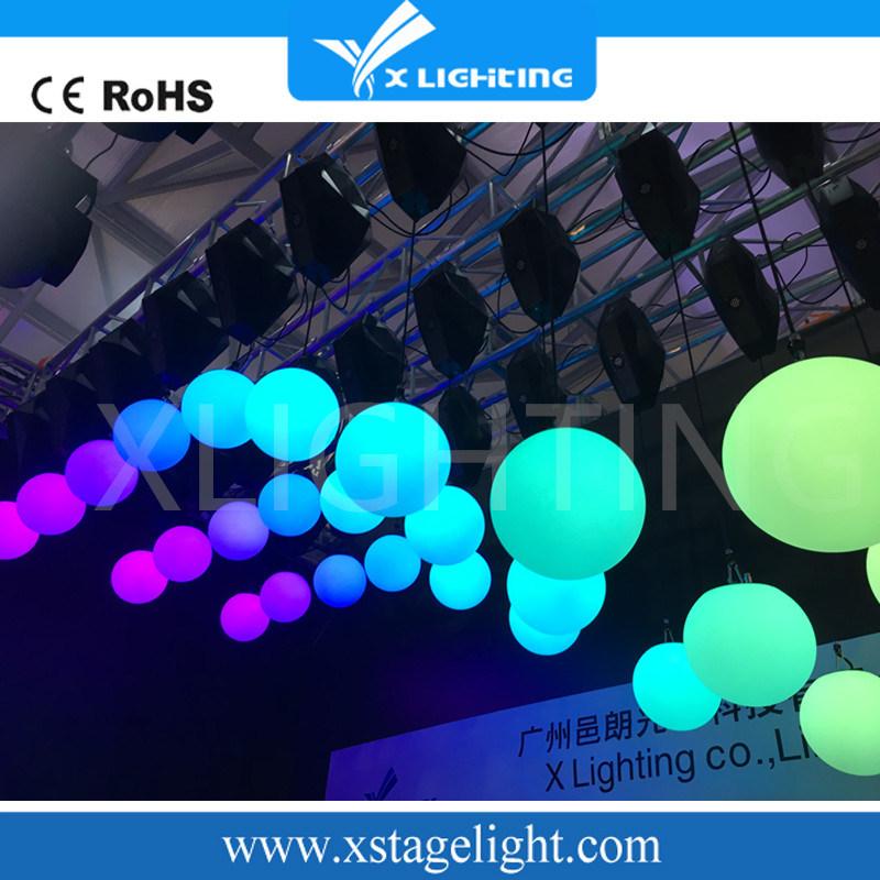 Magic DMX512/Master-Slave /Auto LED Ball Light Lifting Ball