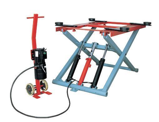 Single Hydraulic Automotive Lifts : China hydraulic auto lift single scissor car