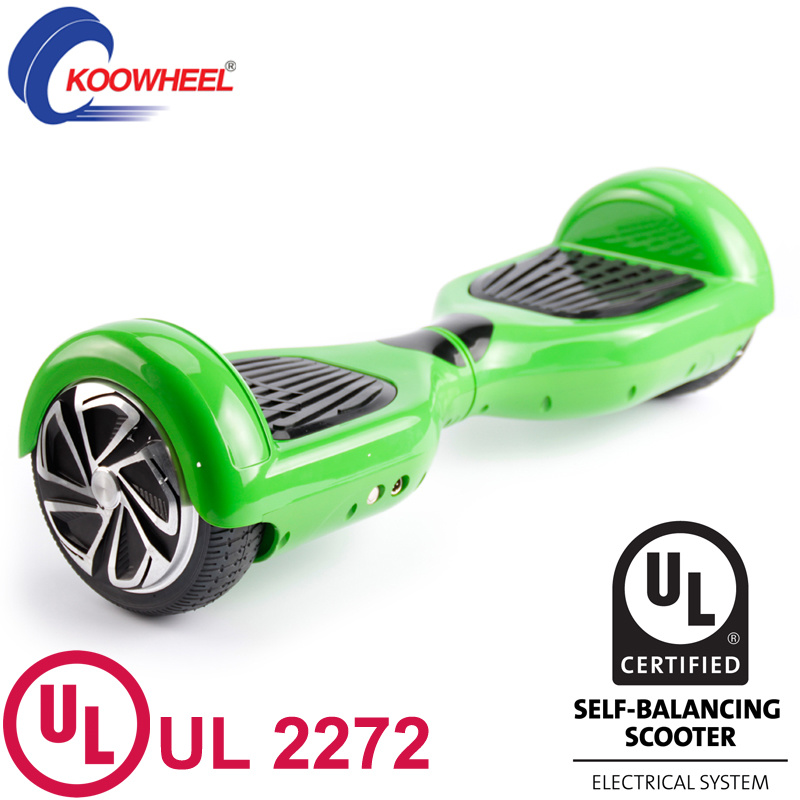 Smart 6.5 Inch Two Wheel Self Balance Electric Skateboard Hoverboard with UL2272 Approval