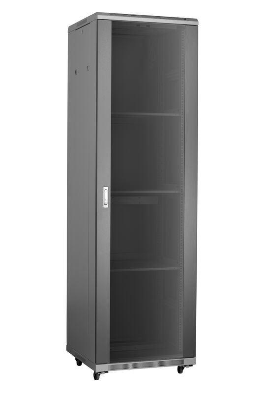 "19"" Server Rack for Telecommunication Cabinet Glass Door"