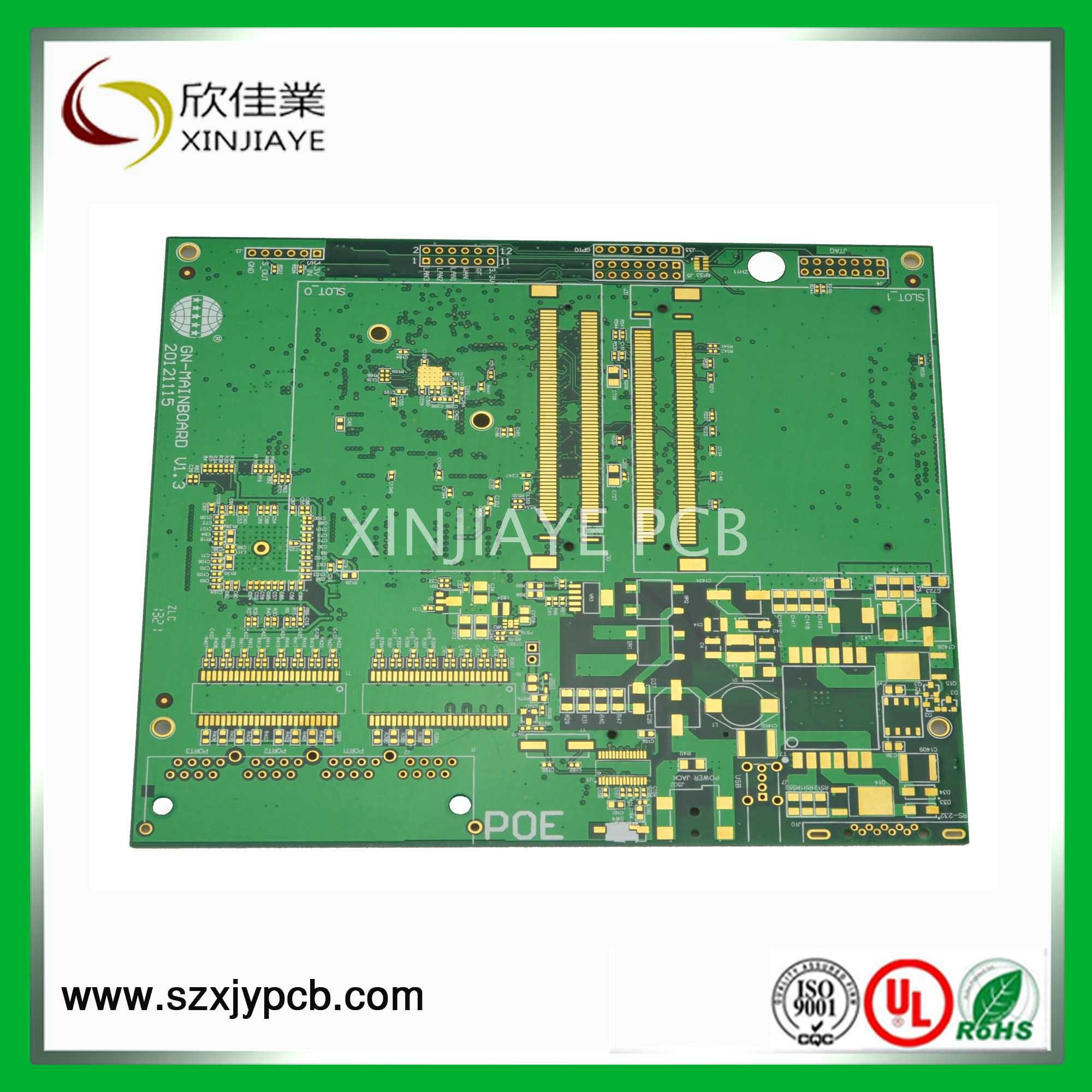 Tablet PCB with Green Solder Mask