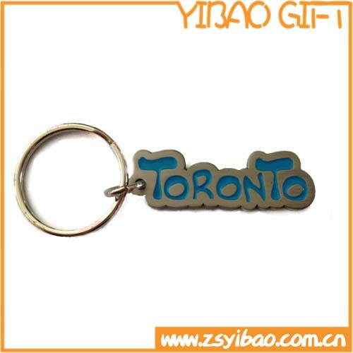 Wholesale High Quality Customized Logo Metal Key Chain (YB-k-013)