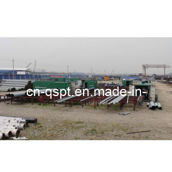 Containerized Pipe Fabrication Production Line