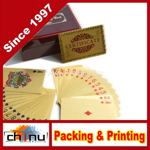 Plastic PVC Custom Printed Playing Cards (430009)